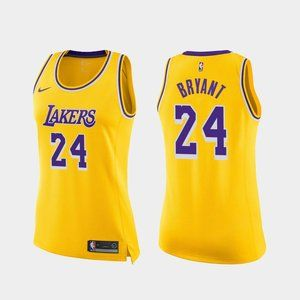 Women Lakers #24 Kobe Bryant Jersey